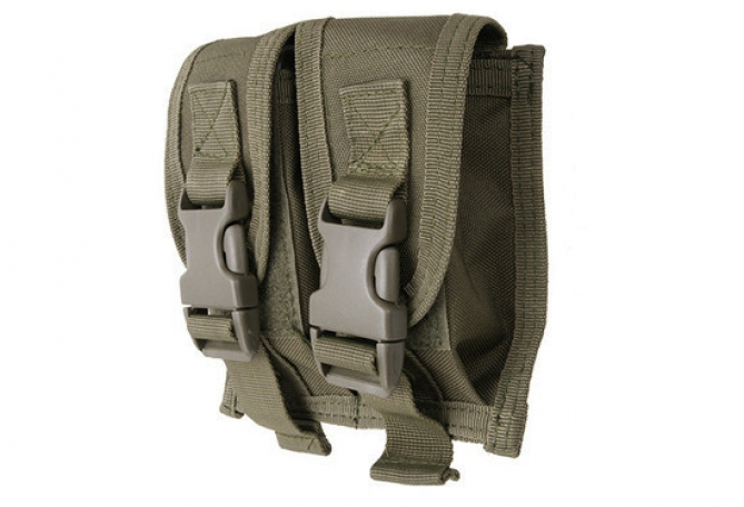 Double Grenade pouch Olive
