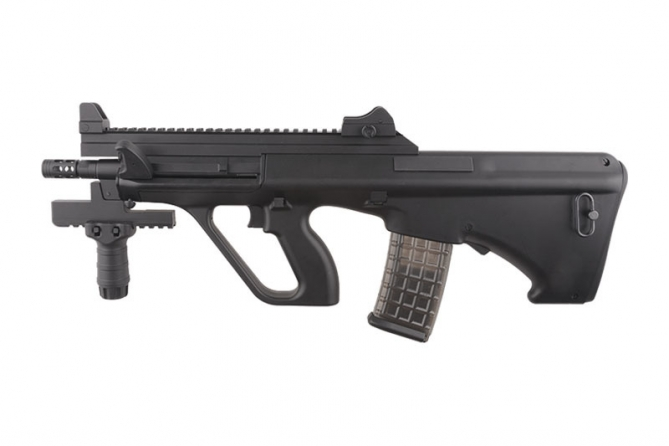 Snow Wolf SW-020T AUG COMMANDO Carbine  Black AEG 0,5 Joule