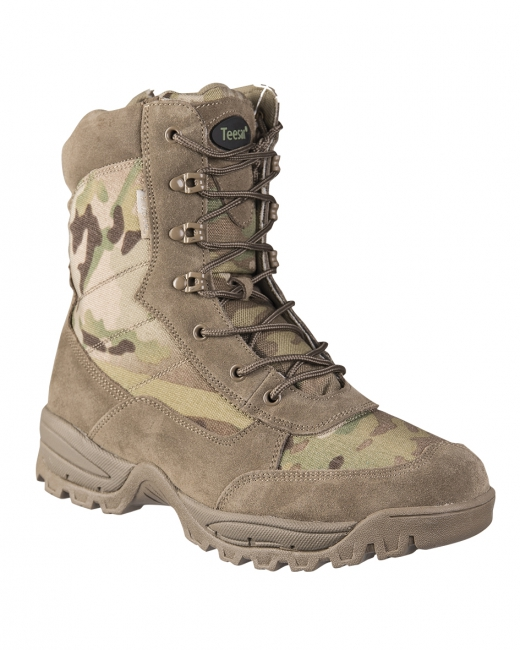 TACTICAL BOOT M.YKK ZIPPER MULTICAM®