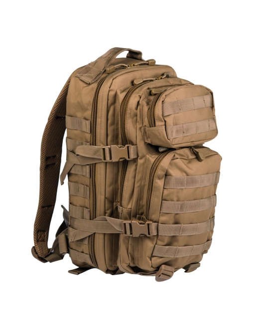 US ASSAULT PACK SM COYOTE