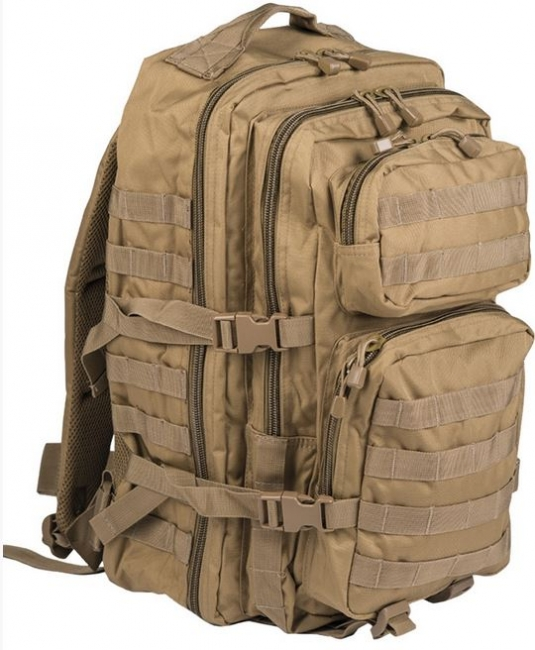 US ASSAULT PACK LG COYOTE