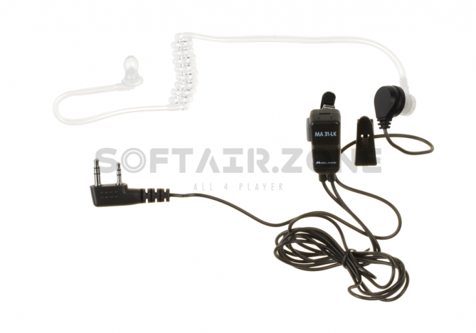 AE 31 C-2L Security Headset für alle Geräte mit Kenwood Connector Midland