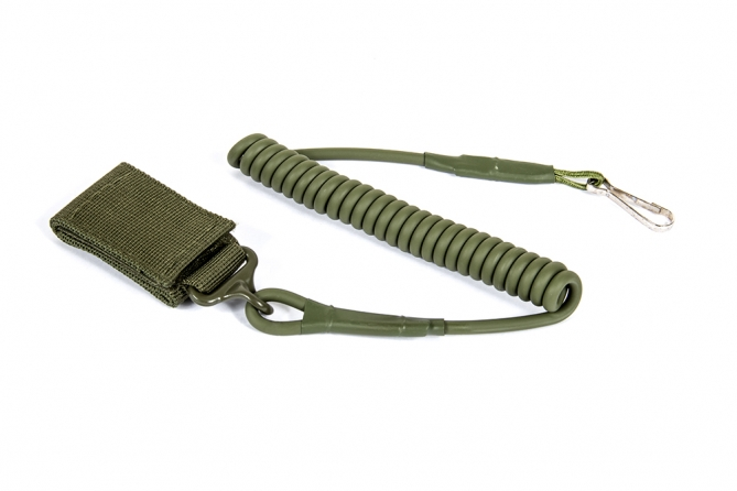 Black River Pistolen Lanyard Green 100% nylon