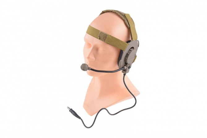 Dragon Headset Tan
