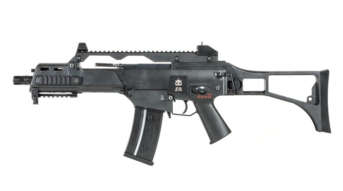 Evolution  G36C EG6 Black mit Klappschaft AEG 0,5 Joule