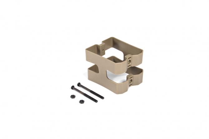 Evolution Dual Mag. Clip For M4/M16 - Tan