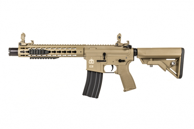 "Evolution Recon UX4 10"" Amplified Carbontech Tan AEG 0,5 Joule"