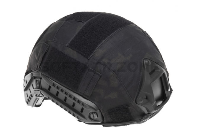 Invader Gear FAST Helmet Cover Black Camo