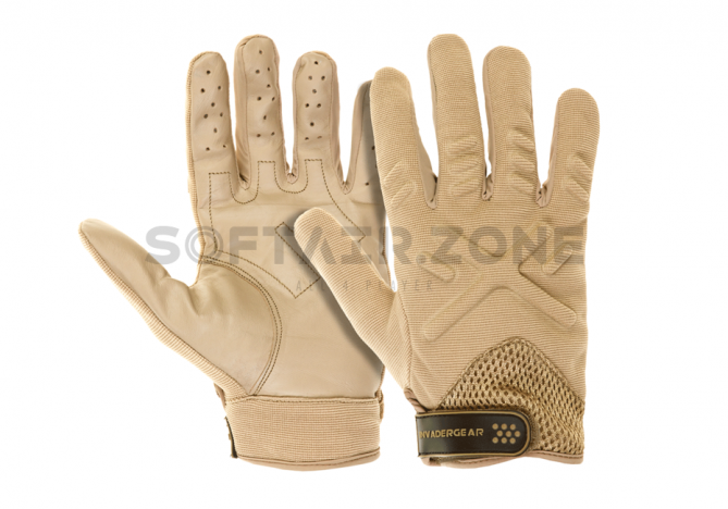 Invader Gear Shooting Handschuhe Tan L