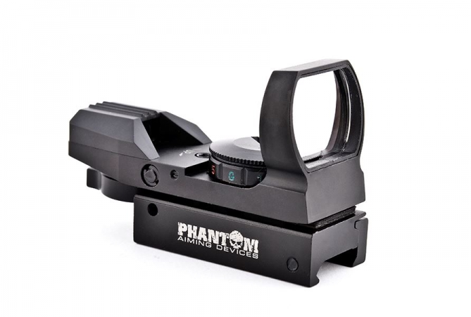 Phantom Multi Dot Reflex Visier schwarz