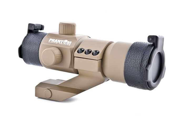 Phantom Tactical Red/Green Dot W/Angle Mount Tan