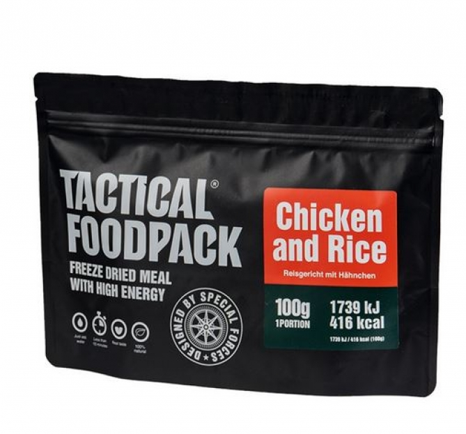 TACTICAL FOODPACK® CHICKEN AND RICE