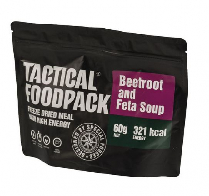 TACTICAL FOODPACK® BEETROOT SOUP WITH FETA