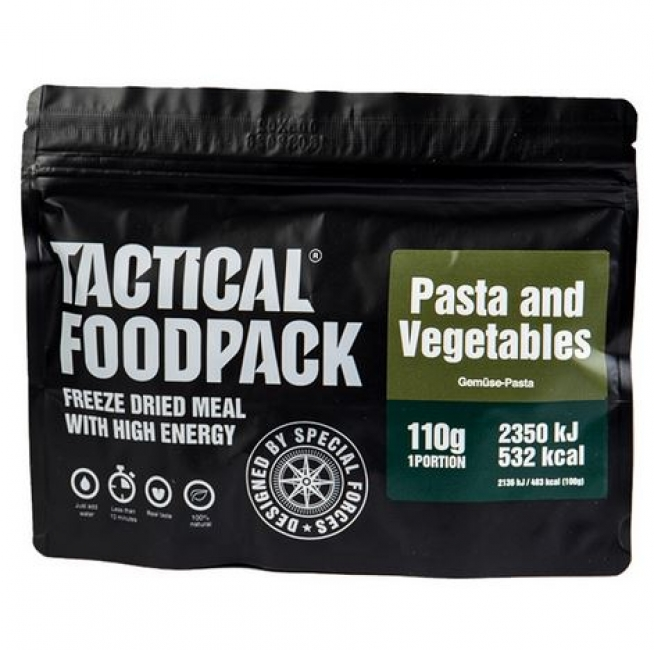 TACTICAL FOODPACK® PASTA AND VEGETABLES