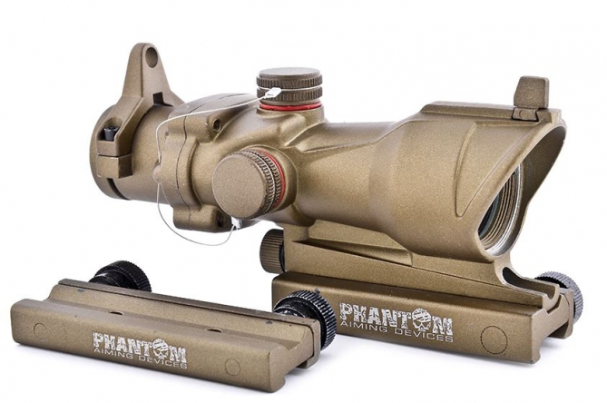 Phantom Tactical Red Dot ACG mit Mount Desert