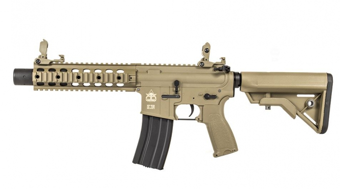Evolution Recon UX9 Silent OPS Carbontech Tan  AEG 0,5 Joule