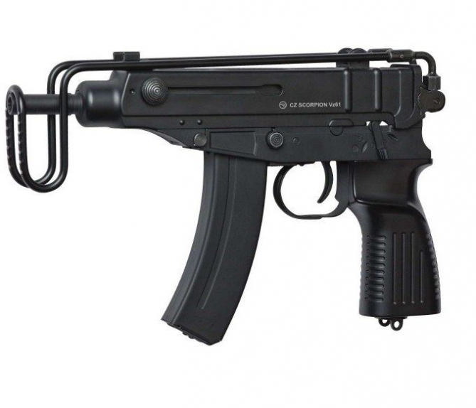 Well  R2C SMG Scorpion Black  AEG 0,5 Joule -