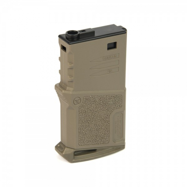 AMOEBA MID-CAP 120 ROUNDS MAGAZINE FÜR M4 DARK EARTH