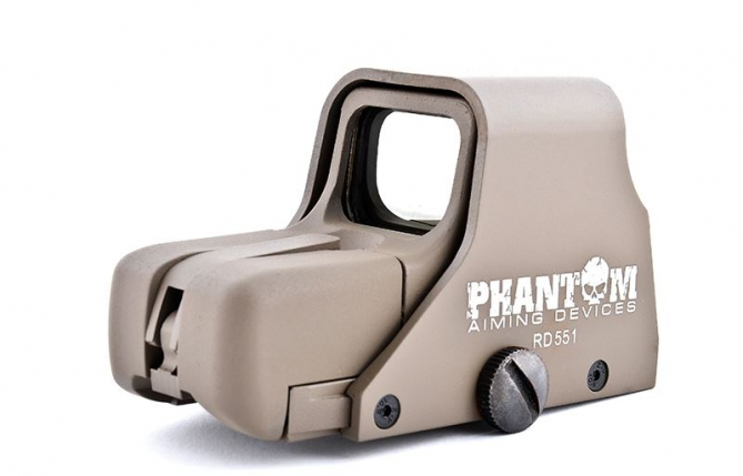 Phantom Red/Green Dot Holo Sight 551 (Desert Color)