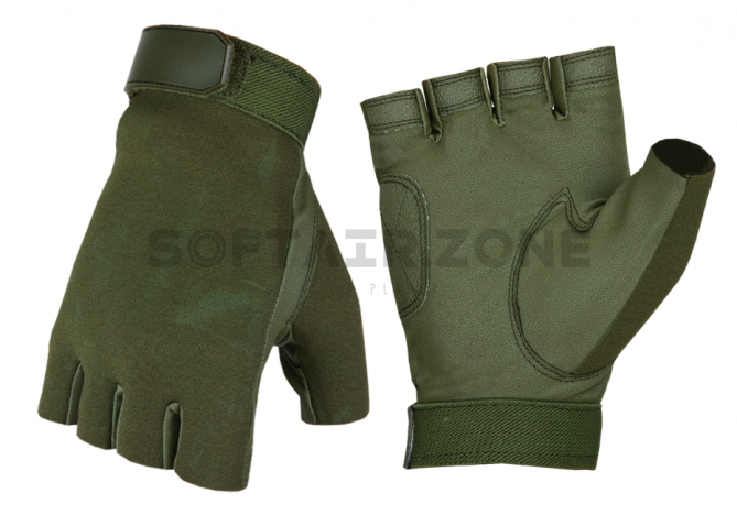 Invader Gear Half Finger Shooting Handschuhe OD L