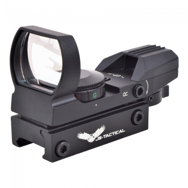 JS-TACTICAL RED DOT HOLOSIGHT BLACK
