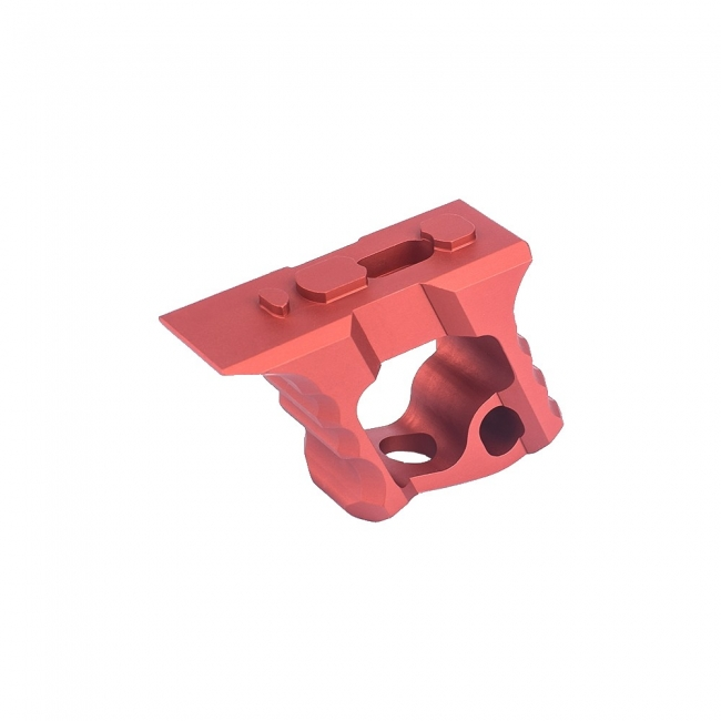 Metal Hand-Stop for Keymod/M-Lok System Red