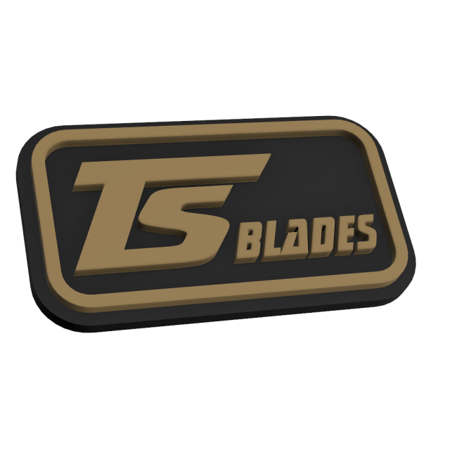 TS BLADES RUBBER PATCH 2