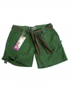 ARMY SHORTS WOMAN OLIV